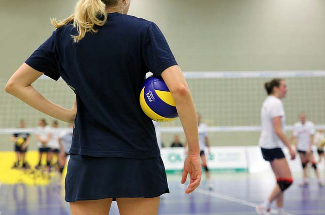 Trainerin Volleyball Frauen